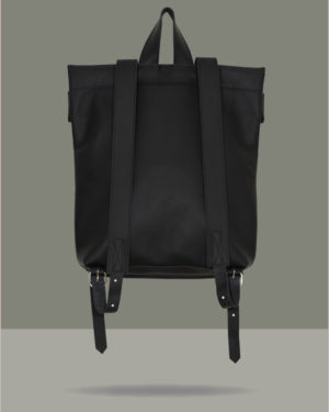 Double-Rollitbag-black-leather – back